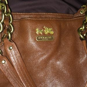Vintage coach tote bag!